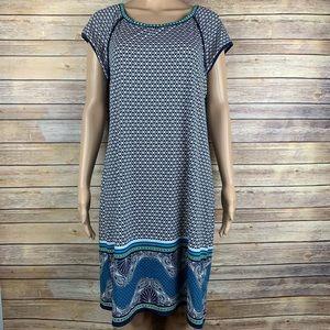 Max studio pattern dress